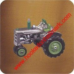 Hallmark 2003 #antique #tractors #7 rare colorway #repaint - mint in box ,  View more on the LINK: http://www.zeppy.io/product/gb/2/261574728080/