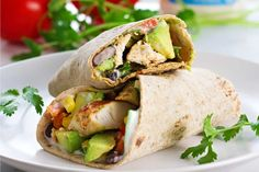 Spicy, creamy, crunchy, and savory. These Slow Cooker Fiesta Ranch Chicken Wraps are perfect for a busy weekday lunch or dinner!