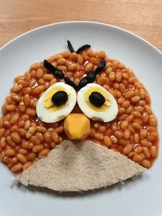 Angry birds beans