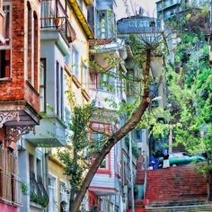 amazing small streets of Istanbul..