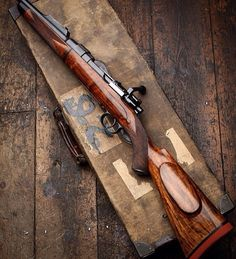 1920 Westley Richards 318 Take Down Rifle on Mauser 98 Action by @_WearlyRichards_