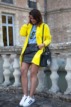 2015 Zara /skirt: Gas Jeans / sneakers: Adidas Superstar/shirt: Zara bag: Fendi