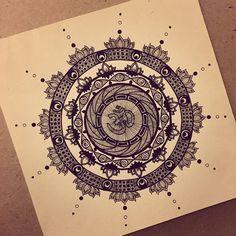 """""Whatever purifies you is the right path.""-Rumi #mandala #zentangle #zenart #doodle #doodling #doodleart #design #handdrawn #art #arttherapy #artoftheday…"""