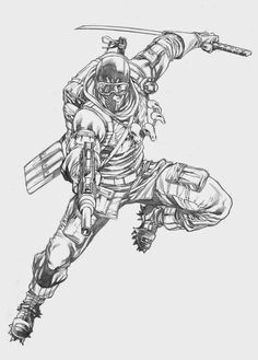 When I draw GI Joe there seems to be no shortage of Snake Eyes. Character Concept, Character Art, Character Design, Snake Eyes Gi Joe, Shadow Art, Storm Shadow, Arte Dc Comics, 90s Cartoons, Cool Animations