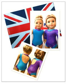 Gymnastic Leotard 18 Doll Clothes Pattern Leotard Pattern For American Girl 174 Dolls Alex 39 S Mckenna Will Need Another Leo Eventually American Girl Diy, American Girl Clothes, Girl Doll Clothes, Girl Dolls, Barbie Sewing Patterns, Doll Clothes Patterns, Doll Patterns, Clothing Patterns, Doll Wardrobe