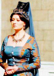 """anon requested: valide kosem sultan's blue hotoz "" Kosem Sultan, Lust For Life, Season 2, Fandoms, Ottoman Empire, Queens, Blue, Beautiful, Woman"