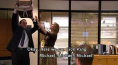 Michael The Office // Baby Shower Parks N Rec, Parks And Recreation, Best Tv Shows, Best Shows Ever, Best Of The Office, Office Jokes, Michael Scott Quotes, Worlds Best Boss, Paper People