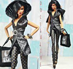 Metal Ghosts OOAK outfit | www.ebay.com/sch/dollsalive/m.htm… | Flickr