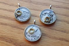 mini lord of the rings charms