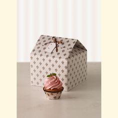 Set de 2 cajas decorativas para cupcakes - Cocina y Repostería