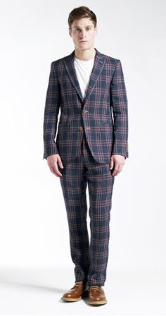 Check out Jigsaw Menswear's summer weight, Linen Tartan Suit for a fresh take on warm weather tartan   http://www.jigsaw-online.com/linen-tartan-blazer//jigsaw-clothing/fcp-product/6540