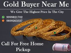 Get the best cash for gold Jewellery in Delhi NCR, We always treaty with our clients on trust that flourish both us. So come to us and grab your best offers. Call us on 9999333245.