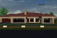 House Roof Design, Bamboo House Design, Village House Design, Bungalow House Design, Village Houses, Cheap House Plans, Free House Plans, Contemporary House Plans, Modern House Plans