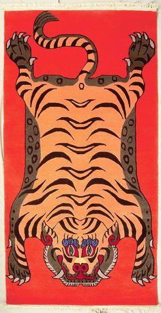 TIBETIAN TIGER CARPETS | tibetan-tiger-rugs5
