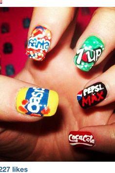 Soda nails