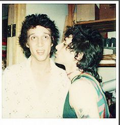 Johnny Thunders / Richard Hell - my two dream men in one picture. :x
