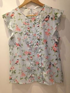 BLUSA PRINT FLORAL- UNIQUE CHIC
