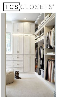 Beau Design, Customize And Have Your Dream Closet Installed With TCS Closets By  The Container Store. TCS Closets Are Luxury Custom Walk In Closets Staged  And ...