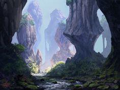 Rocky Landscape by jjpeabody.deviantart.com on @deviantART