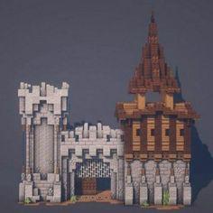 Minecraft House Plans, Minecraft House Tutorials, Cute Minecraft Houses, Minecraft Castle, Amazing Minecraft, Minecraft Blueprints, Minecraft Creations, Minecraft Designs, Minecraft Crafts
