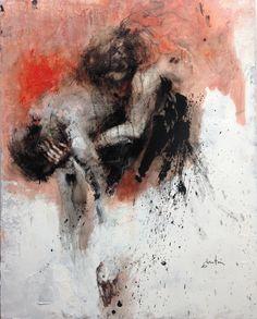 ewa hauton oil on canvas 116x86cm http://ewahauton.wix.com/peinture