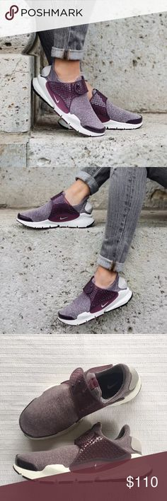 Women's Nike Sock Dart SE Low Running Sneakers Women's Nike Sock Dart SE Low Running Sneakers takes a minimalist approach with a stretchy knit upper designed for a comfortable feel and a streamlined look. Style/Color: 862412-600  * Women's size 8  * NEW in box (no lid) * No trades * 100% authentic Nike Shoes Sneakers