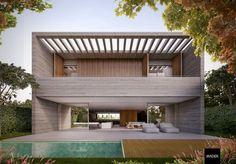Mader Arquitetos - Otter House - Alphaville Porto Alegre, RS, Brazil