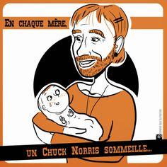 Chuck Norris est une femme extraordinaire