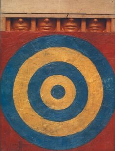 Jasper Johns - Target with 4 faces -  1955