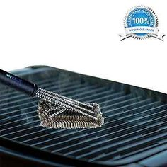 Best BBQ Grill Brush 3 in 1 - 18 Inch Grill Brush Stainless Steel +Bbq and Kitch Bbq Grill, Grilling, Bbq Equipment, Grill Brush, Stainless Steel Bbq, Best Bbq, Brush Cleaner, Sweet Home, Ebay