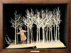The Book Sculptures of Su Blackwell. From popuppaper.blogspot.com.au
