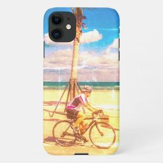 Cycling along the Beach iPhone 11 Case   rapha cycling, beginner cycling, cycling photography #freeshipping #cobbledclassics #onedayclassics, 4th of july party