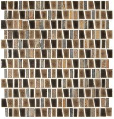 Midpark Sandbox Trapezoid Mixed Mosaic Sold Per Sheet, 1 Sqft/ Sheet Midpark Sandbox Mosaic is a trapezoid composed of porcelain & stone. The beautiful mix of materials is a perfect statement for a back splash or accent wall. Stone Mosaic Tile, Mosaic Wall Tiles, Mosaics, Pergo Laminate, Grand Terrace, Rubber Tiles, Tiles Price, Thing 1, Guest Bathrooms