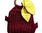 Handbag - The Woodlands Purse (BURGUNDY)