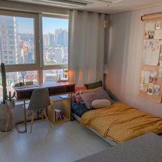 35 Spectacular Small Bedroom Design Ideas For Cozy Sleep – Decorating Ideas Room Interior, Interior Design, Design Living Room, Design Bedroom, Aesthetic Room Decor, Cozy Room, Decoration Design, Dream Rooms, My New Room