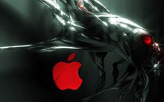 Alien Apple Logo  #Alien #Apple #Logo