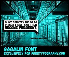 Gagalin free font by Iordanis Passas
