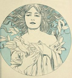 """twisterpunch:  """" Alphonse Mucha (1860-1939) covers, """"Cocorico"""", #1 (1898), #4 (1899), #19 (1899), #62 (1902) respectively  """""""