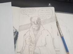 Got Mania. Fast #sketch #pencil