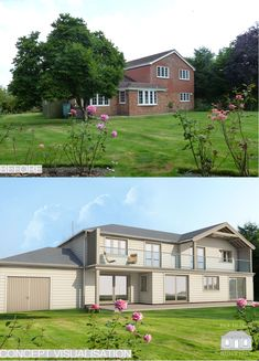 1960's/1970's Remodelled Exterior and Extended by Back to Front Exterior Design