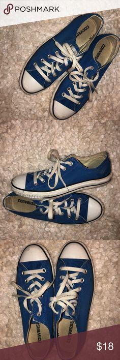 7a9139a0f49b Royal Blue Converse Women s Size 9 Royal Blue Converse Women s Size 9 Converse  Shoes Sneakers