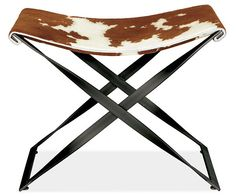 Room & Board - Karr Stool with Graphite Base