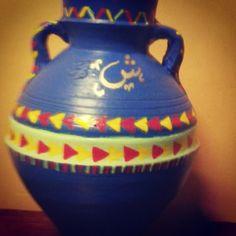 Ramadan, Pottery, Vase, Drawings, Home Decor, Ceramica, Homemade Home Decor, Decoration Home, Room Decor
