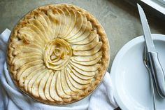 """French Apple Tart"" - The Official Site of Georgia PellegriniThe Official Site of Georgia Pellegrini"
