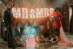 Light Up Letters, Boho Wedding, Las Vegas, Wedding Inspiration, Neon, Color, Style, Swag, Illuminated Letters