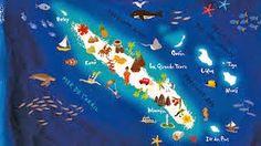 """""""chez flanagan tailleur de rêves"""" : le blog de Marie Diaz où j'ai trouvé cette jolie carte de la Calédonie ! :)"""