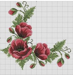 Cross Stitch Flowers, Clay Projects, Crochet Shawl, Embroidery, Floral, Instagram, Kilims, Cute Cross Stitch, Cross Stitch Love