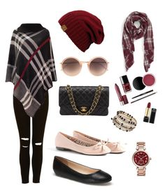"""""""Ready to shop"""" by daviesi ❤ liked on Polyvore featuring Missguided, Lacoste, Sole Society, Linda Farrow, Wallis, Michael Kors and Chanel"""