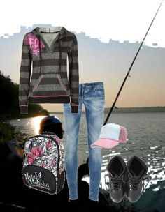Gotta catch em all! New York Style, My Style, Fishing Outfits, Gone Fishing, Outdoor Adventures, Southern, Outfit Ideas, Womens Fashion, Girls
