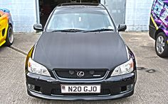 Keep your eyes peeled for the carbon bonnet wrap we completed a few months back #vehiclewrapping #wrapped #lazerpics